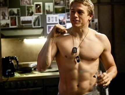 IMHO, Charlie Hunnam can be shirtless forever