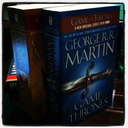 Song of Ice & Fire Books 1 & 2 by George RR Martin