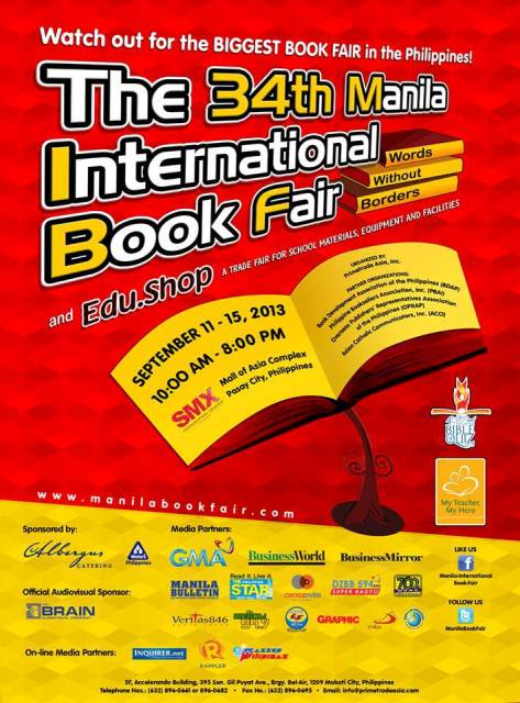 2013 MIBF poster