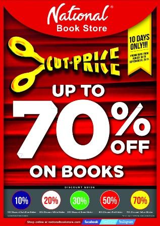 cutprice booksale poster