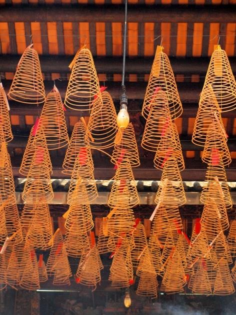 Incense coils, Ho Chi Minh, Vitenam