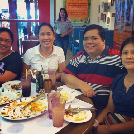 an unplanned reunion with my college friends