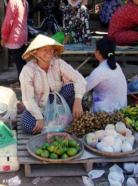 Fruit Seller in Svay Rieng, 2008