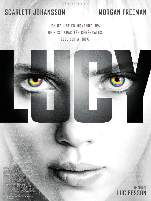 the poster, in French