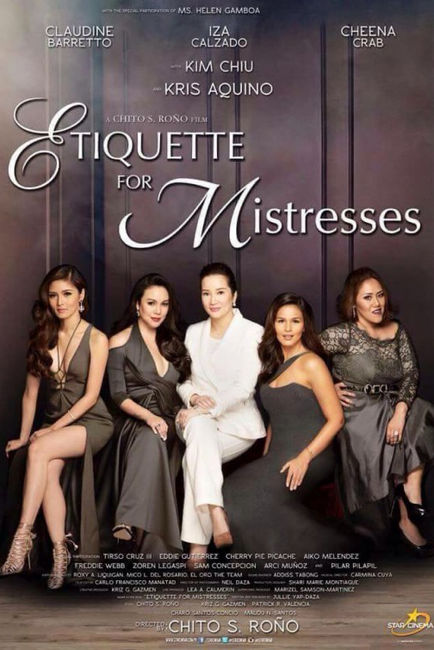 Recently seen movie: Etiquette for Mistresses